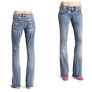 Silver 30x30 Suki Bootcut Jeans